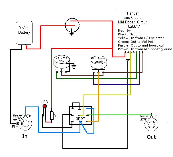 wiring diagram fender mid boost wiring diagram 2018 Eric Clapton